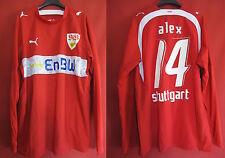 Maillot VfB Stuttgart Vintage Puma Enbw Manche Longue Alex - L