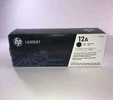 HP 12A Black Toner Cartridge Genuine (Q2612A)