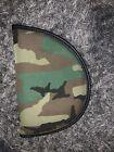 CAMO PATTERN MILITARY ARMY MEDIUM HANDGUN CASE FUR PADDED INTERIOR ZIP CLOSURE