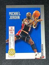Michael Jordan 1992-93 Skybox Team USA Road to Gold #USA11 Chicago Bulls D