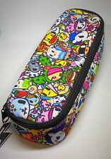 Tokidoki Zippered Pouch Pencil Electronics Phone Charger Accessory Case Kawaii