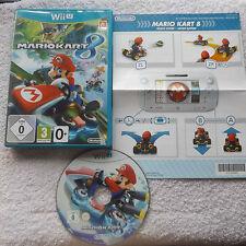 MARIO KART 8 NINTENDO Wii U V.G.C. FAST POST ( racing game & complete )