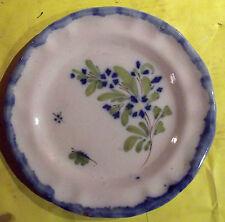 Ancienne assiette décor bleuet vintage