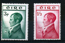 IRELAND 1953 150th ANNIVERSARY OF THE DEATH OF ROBERT EMMET BLOCKS OF 4 MNH