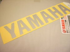 "ORIGINAL ""YAMAHA"" TANK EMBLEM AUFKLEBER 120MM GRAPHIC STICKER XS400 SR500 XS650"