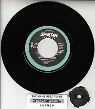 "BOXCAR WILLIE The Man I Used To Be & Luther 7"" 45 record NEW + juke box strip"