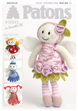 1x Patons Pattern Book Smoothie DK Fairy Dolls Sewing Craft Tool Hobby