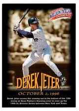 1997-98 Fleer Million Dollar Moments #2 Derek Jeter
