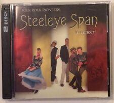 Steeleye Span - In Concert- Dbl CD