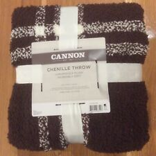 New Cannon Chenille Luxuriously Plush Throw