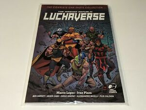 *NEW* LUCHAVERSE The Masked Republic Wrestling Comic Book Rey Mysterio/Konnan ++