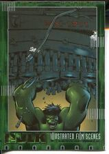 The Hulk Film And Comic Cards Illustrated Film Scenes Chase Card IF05