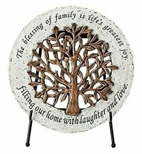 New listing Roman 11070 Indoor or Outdoor Round Stepping Stone with a Filigree Design and an