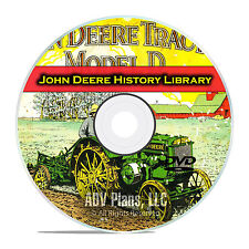 John Deere History, Farming, Plow Catalogs Manuals Brochures Parts Lists DVD E73
