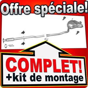 Bosal Echappement Arrière Endschalldämpfer du silencieux pour Mini Cooper r56 r57 Cabriolet 1,6