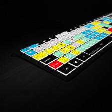 Adobe Premiere Backlit Keyboard  PC - Editors Keys Shortcut Keyboard