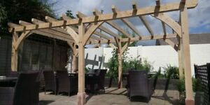 Oak Frame Pergola, Porch, Garage, Windows, Orangeries, Car Port, Outdoor Cooking