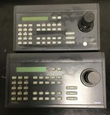 Set of 2 Ge Interlogix Ktd-405 Kalatel Ptz Controller