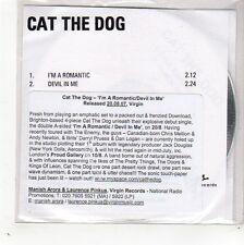 (GD532) Cat The Dog, I'm A Romantic - 2007 DJ CD