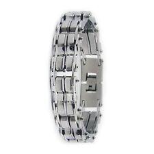 Stainless Steel High Polished Biker Chain Bracelet