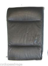 BMW OEM E46 LEATHER BLACK REAR SEAT BACK REST PASSENGER RIGHT 52207048546 330