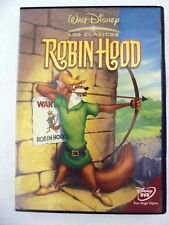 DVD Robin Hood,Walt Disney