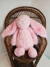 """Jellycat Bashful Bunny Rabbit Plush Pink stuffed animal toy lovey small 8"""""""