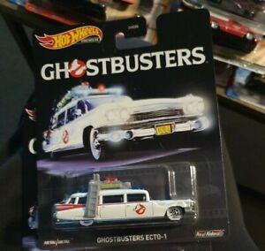 Hot Weeels Ecto 1 Premiun Ghostbusters New NIB
