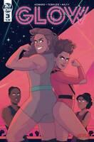 Glow #3 IDW Comic Gorgeous Ladies of Wrestling Netflix 1st Print 2019 unread NM