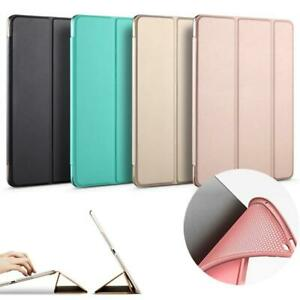Case for iPad Soft silicone bottom+PU Leather Smart Cover