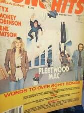 Song Hits March 1980 Magazine-Fleetwood Mac/Styx/Smokey Robinson/Gene Watson