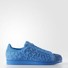 ADIDAS ORIGINALS SUPERSTAR XENO REFLECTIVE SHOES MEN'S SIZE US 11.5 BLUE AQ8183