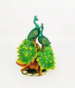 PEACOCK Home Decor Gifts- Bird Ornaments SculpturesFigurines & Statues