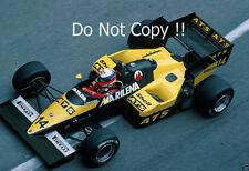 Manfred Winkelhock ATS D7 Monaco Grand Prix 1984 Photograph