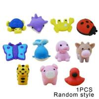 1PCS Cartoon animal mini cute eraser For kid rubber For pencil stationery Q9G8