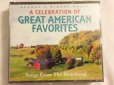 Brand New CD Set ~~ A Celebration of American Favorites ~ 75 Songs ~ 4 CDs ~ NEW