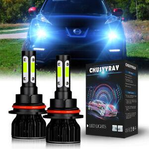 For Nissan Juke 2011 2012 2013 2014 2PCS LED Headlight high/low Bulbs 8000K