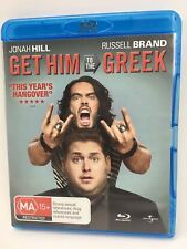 Get Him To The Greek (Blu-ray, 2010) Movie Stoner Comedy Russel Brand