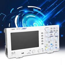"7"" LCD Oscilloscopio digitale 2-Channel 100MHZ  Bandwidth 1GS/s EU Plug"