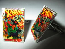 X-Men Comic Book Cover Cufflinks - Marvel Hero Wedding Retro Rockabilly Vintage