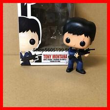 Funko Pop Tony Montana 86 Action collection Figure Scarface Toy & original box ✅