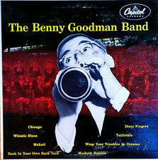 "BENNY GOODMAN - THE BENNY GOODMAN BAND - CAPITOL 409 - 10"" LP"