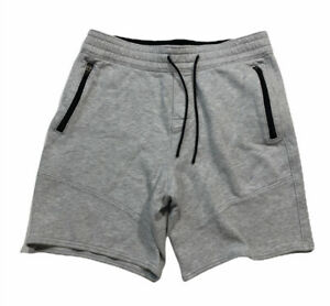 Abercrombie & Fitch Men's Sweat Shorts Athletic Fleece Gray Size Small S