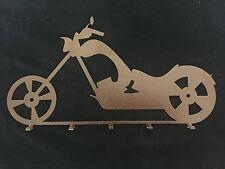 Garderobenhalter Wandgarderobe aus Metall mit 5 Haken alteisen gepulvert 75x41cm