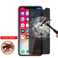 2PCS Privacy Anti-Spy Tempered Glass Screen Protect For iPhone 11 Pro Max XS XR