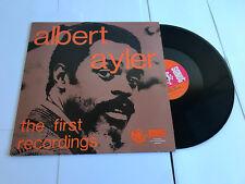 Albert AYLER les premiers enregistrements VINYL LP SONET A1/B1 Comme neuf/EX