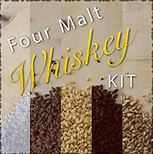 FOUR MALT WHISKEY INGREDIENT KIT AND RECIPE