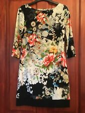 Womens Floral Dress Size 8 3/4 Sleeves ATMOSPHERE (B19)