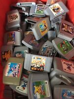 WHOLESALE LOT of 20 Random Nintendo 64 Games N64 Japan region Imports random