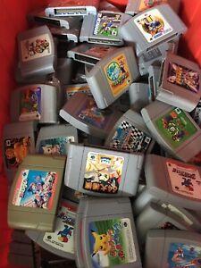 WHOLESALE LOT of 20 Random Nintendo 64 Games N64 Japan region Imports random